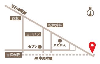 美容院,ヘアサロン,吉祥寺,中央線,tinto