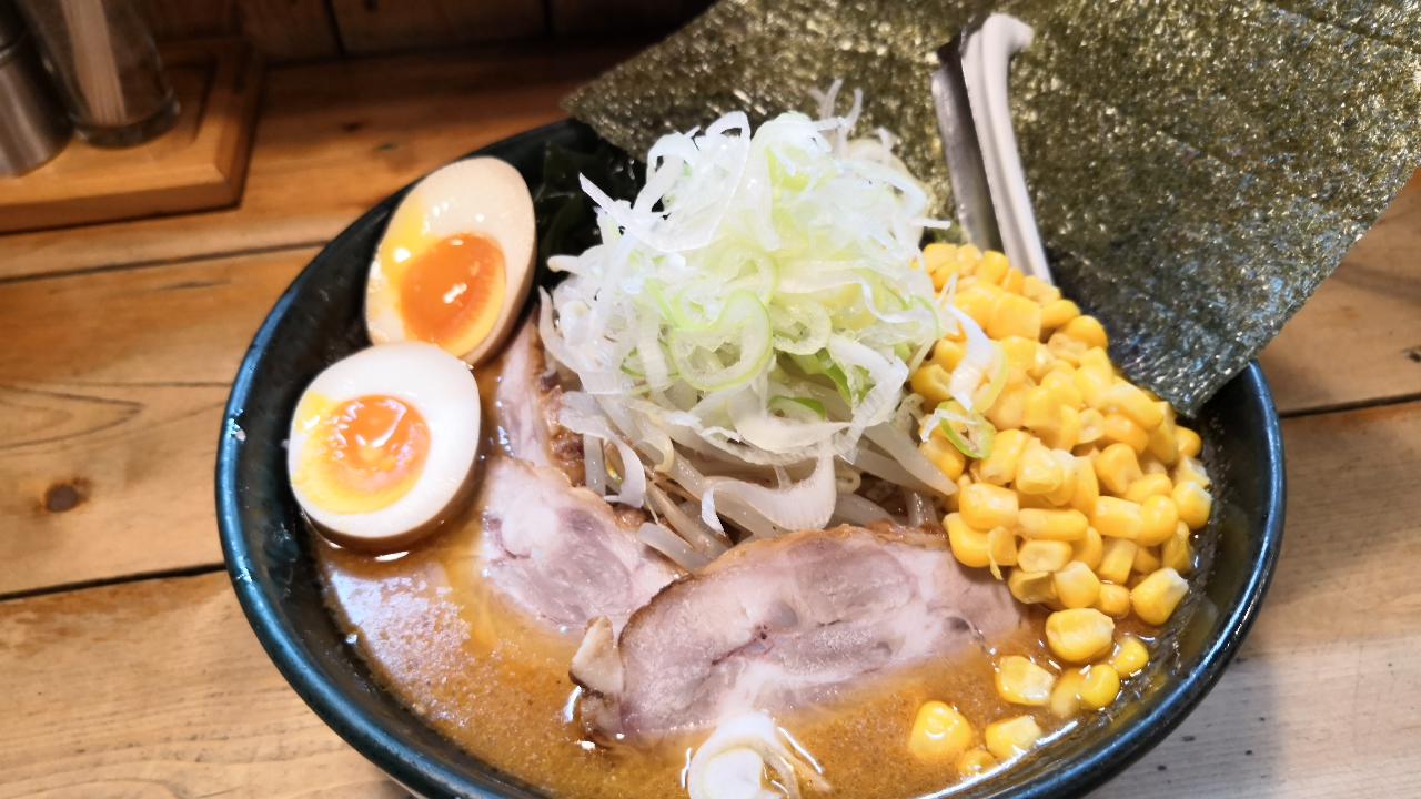味噌ラーメンの「宏ちゃん」(せいの)