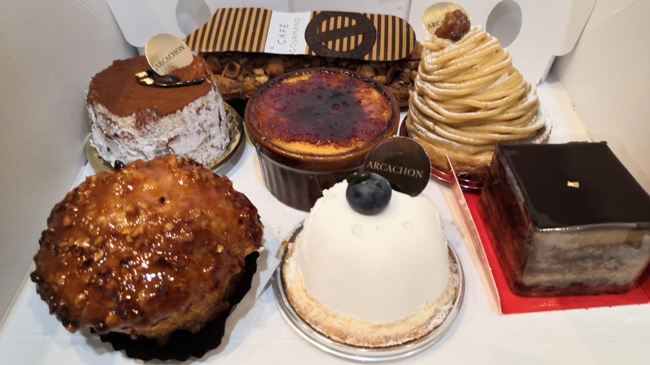 ケーキとチョコがお勧め!「アルカション」